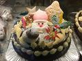 【世田谷区内限定:お届け無料】サンタがお届け!クリスマスケーキ:チョコバタークリーム6号(18cm)