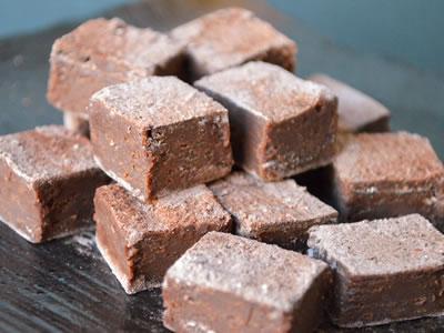 小枝のとろ〜り生チョコ&最高級生チョコ40個:生チョコダブルセット
