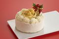 自然食のクリスマス!菓歩菓歩「モンブランケーキ」【限定予約販売/冷凍】