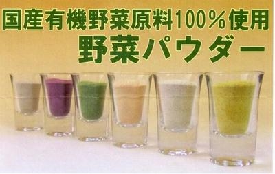 せたがや1オシのマクロの野菜パウダー【小松菜/JAS有機/20g】