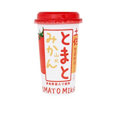 Made in 土佐の地産地消ドリンク とまとみかん【200ml/高知】