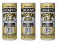 香料・酸味料・着色料不使用 本物のショウガを使用した有機JAS認定 オーガニック ジンジャーエール【250ml】