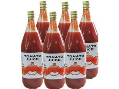 水を一滴も加えない!なかや農園のトマトジュース(無塩)【岐阜県飛騨高山産/1L】