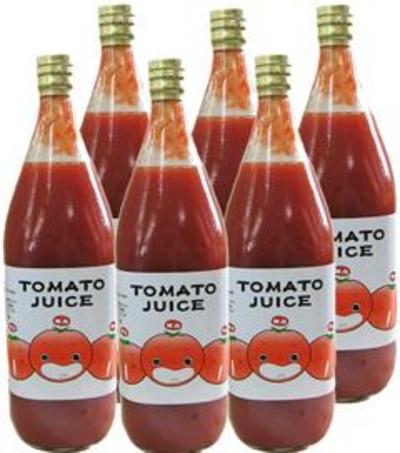 水を一滴も加えない!なかや農園のトマトジュース(無塩)【岐阜県飛騨高山産/1ケース(6本)】