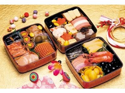 創健社のお正月商品!小懐石おせち三段重24品(重付き)