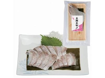 創健社のお正月商品!真鯛昆布〆 1枚(100g)