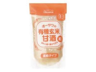 オーサワの有機玄米甘酒(粒) 250g