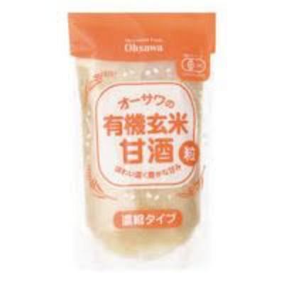 【業務用・送料込み】オーサワの有機玄米甘酒(粒) 1kg×10