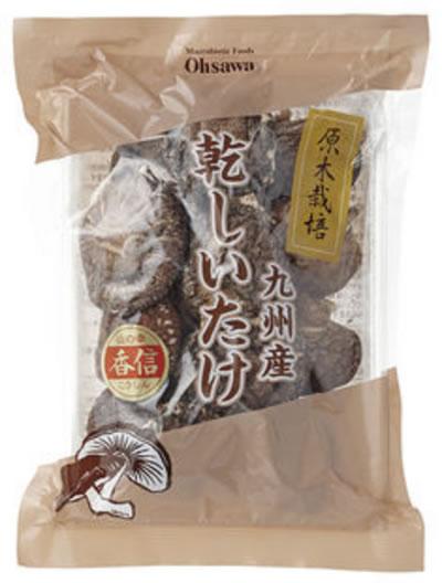 【オーサワ】【業務用】国内産乾しいたけ(香信) 1kg