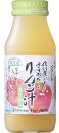 順造選 すりおろしりんご汁 100%ストレートジュース 180ml