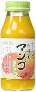 順造選 果汁50%マンゴジュース 180ml
