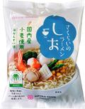 【日本初のRSPO認証ラーメン】桜井食品のラーメン(しお味)
