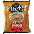【お湯を注ぐだけ】どんぶり麺・納豆そば【調理いらずの袋麺】