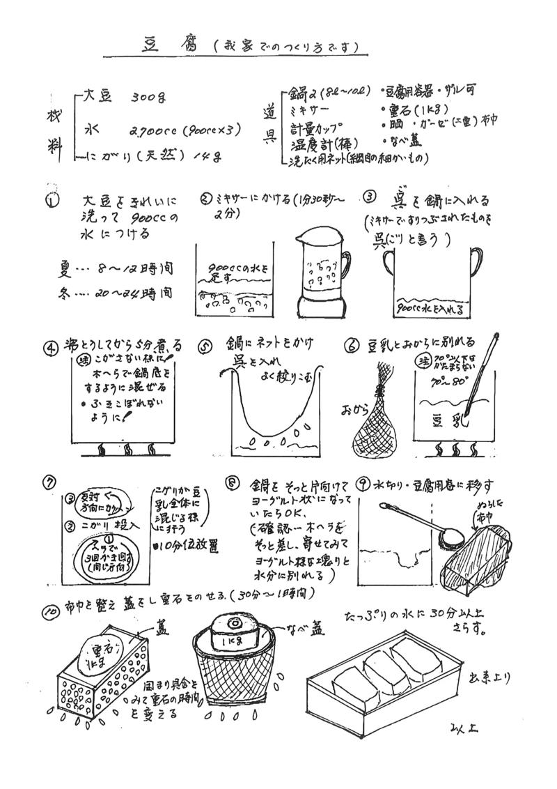 【自然栽培40年】神奈川・中戸川さんの大豆セット【にがり付き】