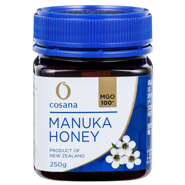 【純粋はちみつ】マヌカハニー MGO550+ 250g【抗生物質不使用】