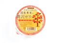 【有機アガベシロップ使用】アガベシロップと国産果実の贅沢ゼリー りんご【白砂糖・香料・着色料・ゼラチン不使用】