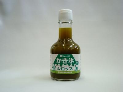 カキ氷シロップ 緑茶味