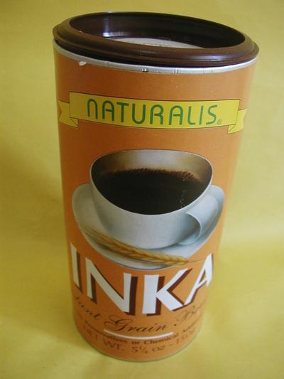 ノンカフェインの穀物コーヒー インカコーヒー 150g