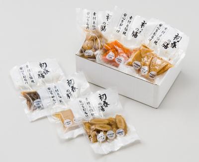 自然食のおせち!お煮しめセット6品【予約販売】