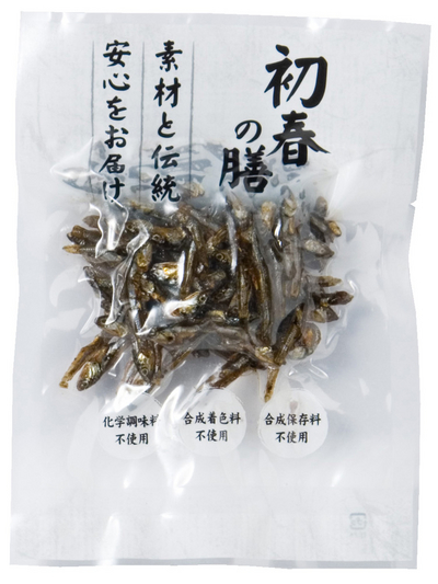 自然食のおせち料理!田作り(サクサク仕立て)【予約販売】約50g