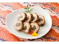 自然食のおせち料理!鶏もも肉の八幡巻【予約販売】1本約180g