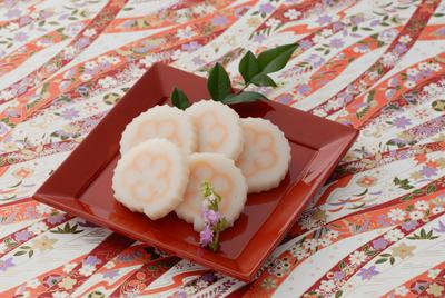 自然食のおせち料理!梅柄なると巻【予約販売】150g