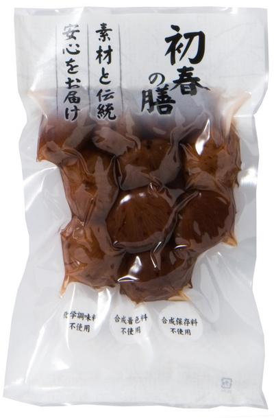 自然食のおせち料理!栗甘露煮(しぶ皮付)【予約販売】200g