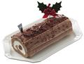 自然食のクリスマス!「生チョコロール」【限定予約販売/冷凍】