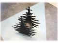 【輸入雑貨/クリスマス雑貨】キャンドルホルダー ツリー型