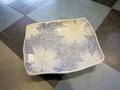 【雑貨/食器】桜模様の角皿