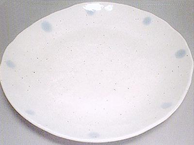 【雑貨/食器】1枚525円!ブルードットダエン皿