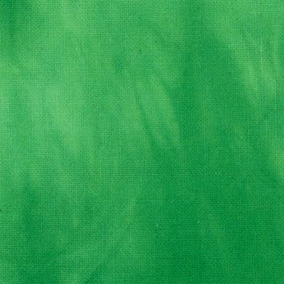 むら染め布 カットクロス50cm×50cm(緑/Green3)ハワイアンキルト・ステンドキルト・パッチワーク