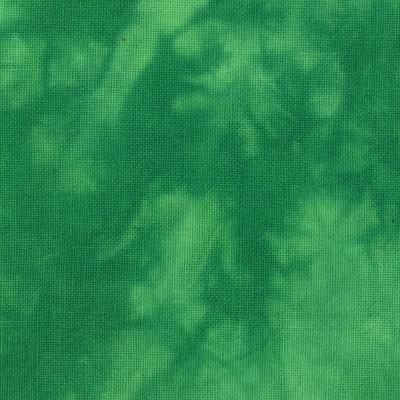 むら染め布 カットクロス50cm×50cm(緑/Green5)ハワイアンキルト・ステンドキルト・パッチワーク