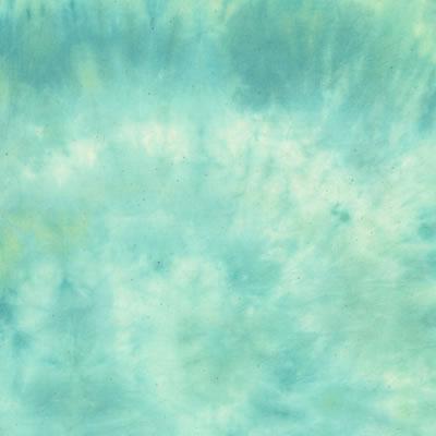 むら染め布 カットクロス50cm×50cm(青/blue7)ハワイアンキルト・ステンドキルト・パッチワーク