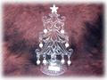 【SALE/輸入雑貨/クリスマス雑貨】アクリル ツリー/サイズ:H14×W9
