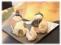 【雑貨/インテリア】ひな祭り 小さな雛人形