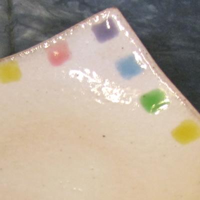 【雑貨/食器】1枚525円!カラフル角皿