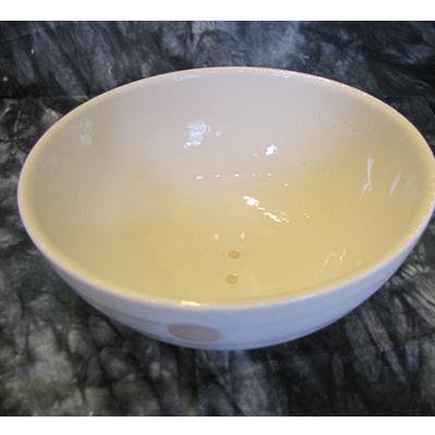 【雑貨/食器】1枚525円!ドット柄 ラーメン鉢