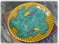 【雑貨/食器】栗の絵柄入り 小皿