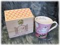 【雑貨/食器】フローレンマグカップ(箱入り)/ピンク
