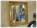【輸入雑貨/家具/インテリア】シンプルでモダンなアンティーク調の鏡