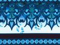 【雑貨/USAコットン/In The Beginning】珊瑚海/U-210 1カットクロス50cm×55cm