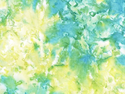 【雑貨/USAコットン】タイダイ柄 グリーン系/H-81 カットクロス50cm×55cm
