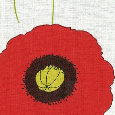 【雑貨/USAコットン/YUWA】中原淳一シリーズ ガーデン ホワイト系/HH−22 1mカット(巾112cm)