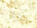 【雑貨/USAコットン/ROBERT KAUFMAN(ロバートカフマン)】蝶の調べ/U-368 カットクロス50cm×55cm