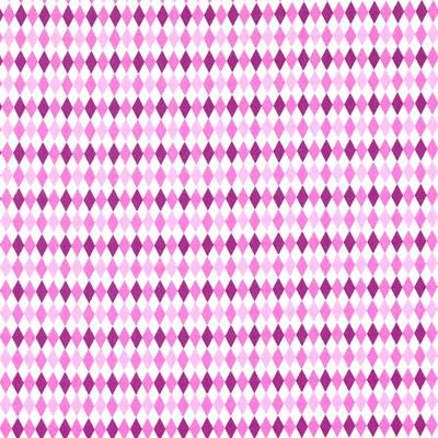 【雑貨/USAコットン/Michael Miller(マイケルミラー)】ダイヤモンド柄/U-348 カットクロス50cm×55cm