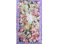 【雑貨/USAコットン/妖精】妖精たちの花園 /P-47 横60×縦約110cm