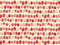 【雑貨/国産プリント/フルーツ】U-386/いちご!イチゴ!苺! カットクロス50cm×55cm