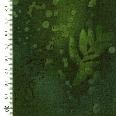 【雑貨/USAコットン/BENARTEX(ベナテックス)】HH-61/フォッシルファーン(Fossil Fern):ダークグリーン カットクロス50cm×55cm