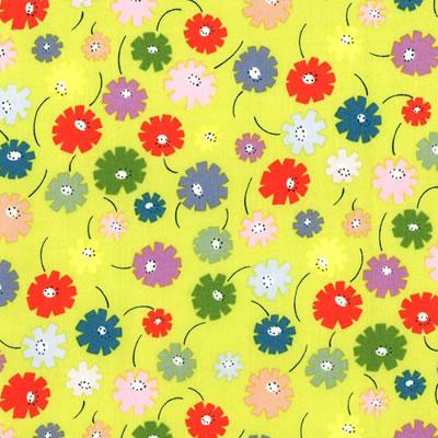 【雑貨/USAコットン/ALEXANDER(アレキサンダー)】U-415/lazy daisy 花柄 カットクロス50cm×55cm